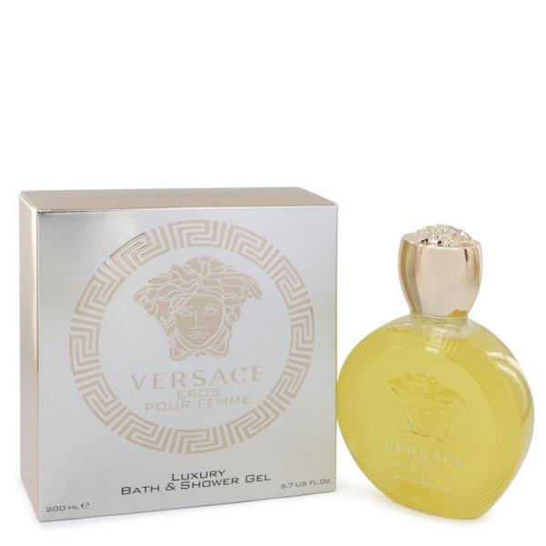 Versace - Eros Pour Femme : Shower Gel 6.8 Oz / 200 ml