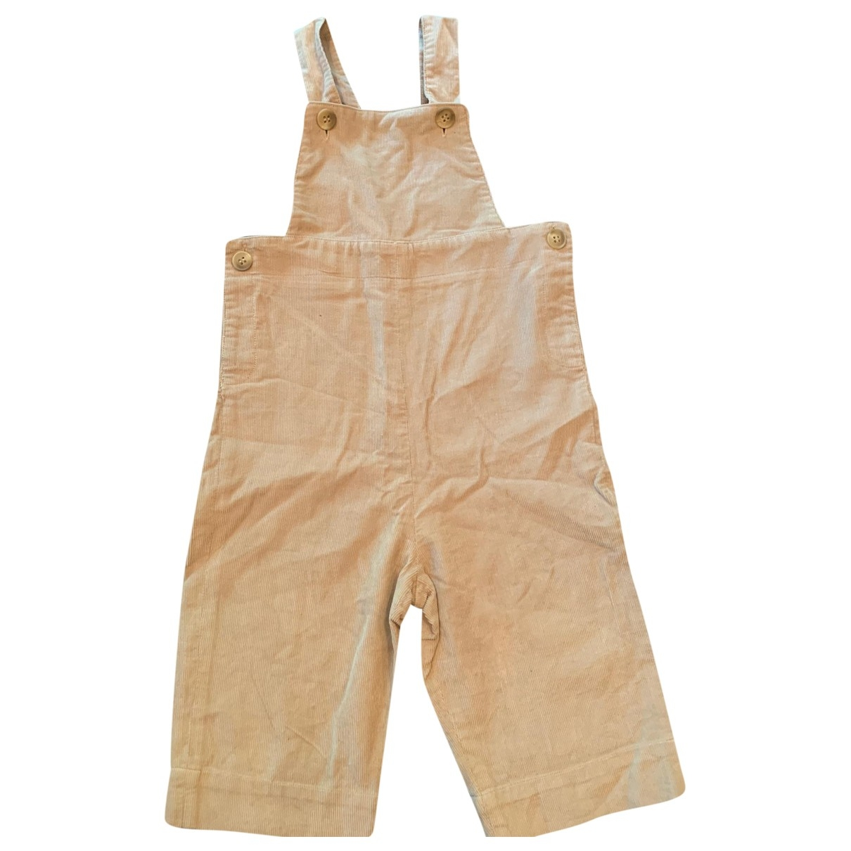 Bonpoint \N Beige Cotton Trousers for Kids 18 months - up to 81cm FR