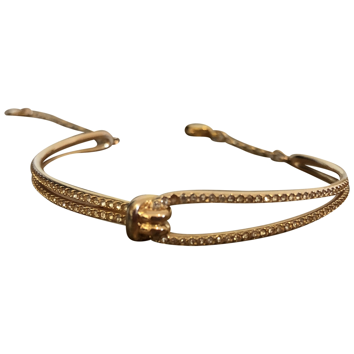 Swarovski Fit Gold Crystal bracelet for Women \N