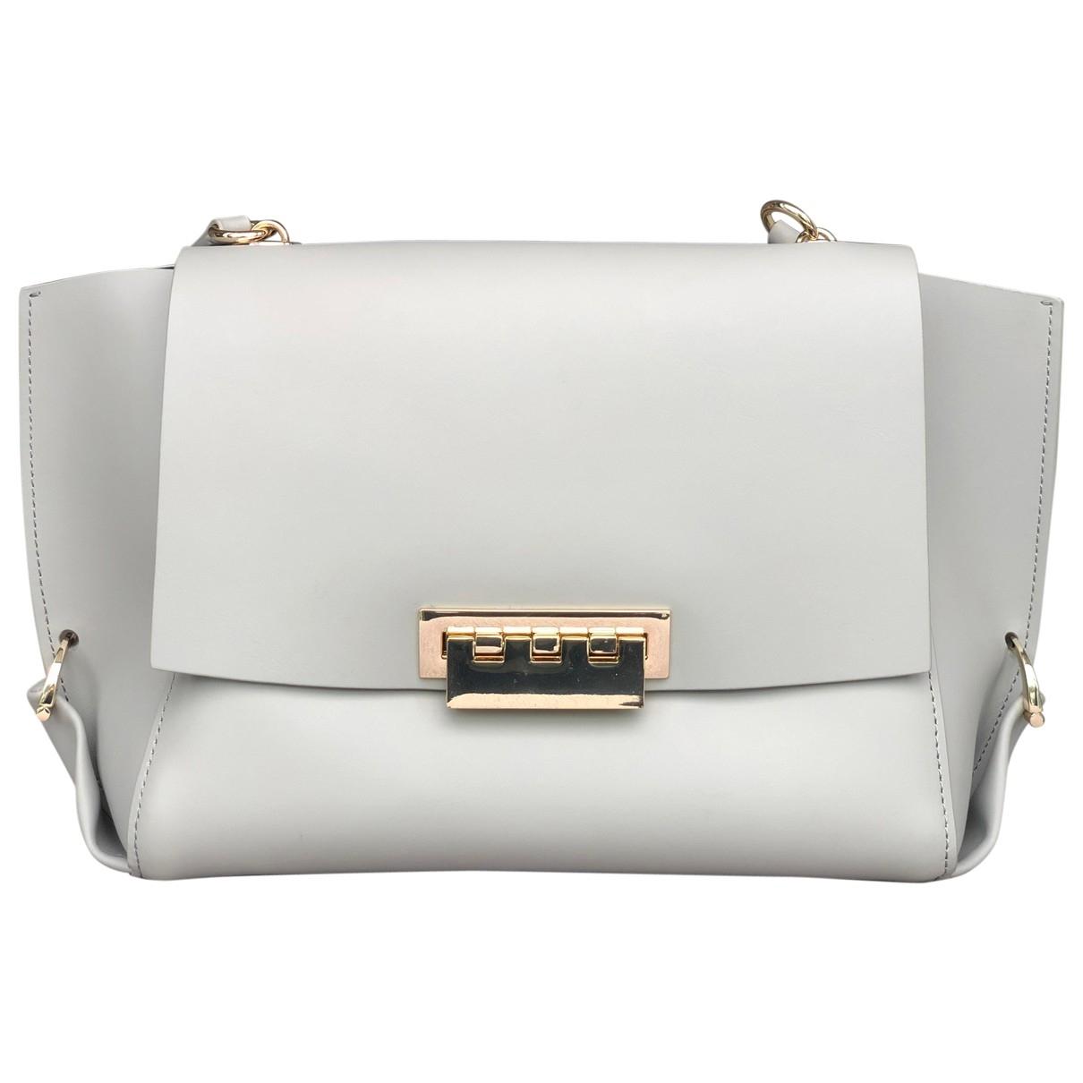 Zac Posen \N Grey Leather handbag for Women \N