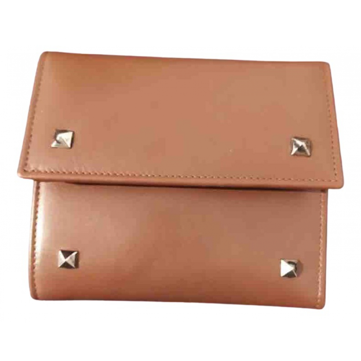 Valentino Garavani \N Camel Leather Purses, wallet & cases for Women \N