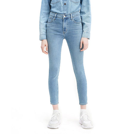 Levi's 720 High Rise Super Skinny Cropped Jean, 31 , Blue
