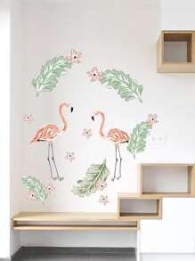 Flamingo Print Wall Sticker