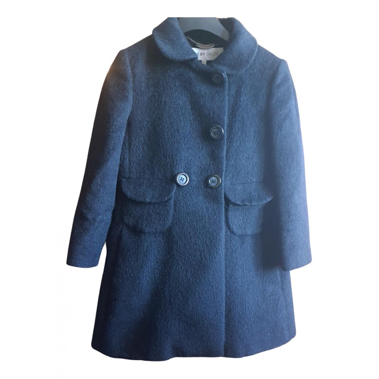See By Chloé \N Black Wool coat for Women 40 FR