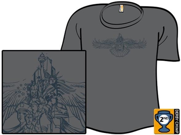 Patriot Wings T Shirt