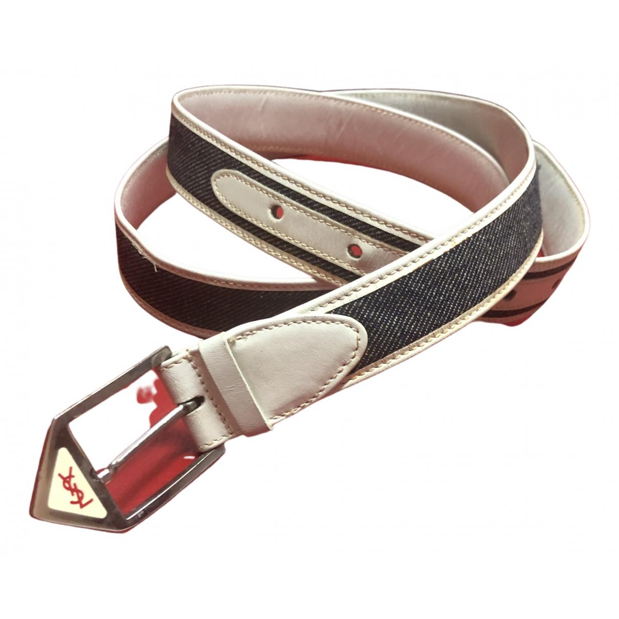 Yves Saint Laurent \N Cloth belt for Women 90 cm