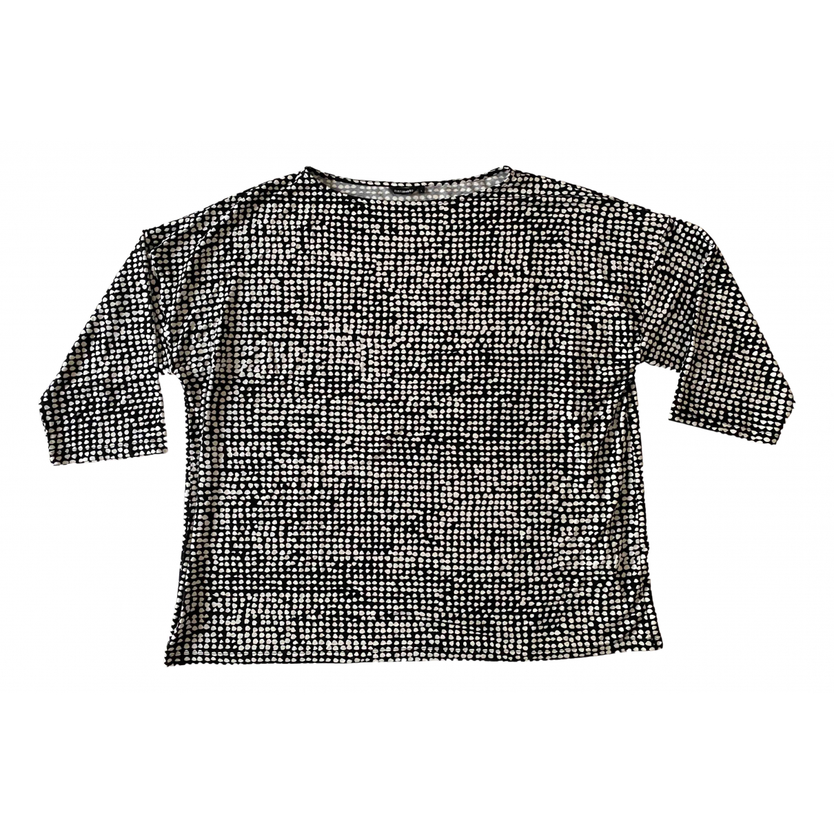 Marimekko \N Black Cotton T-shirts for Men L International