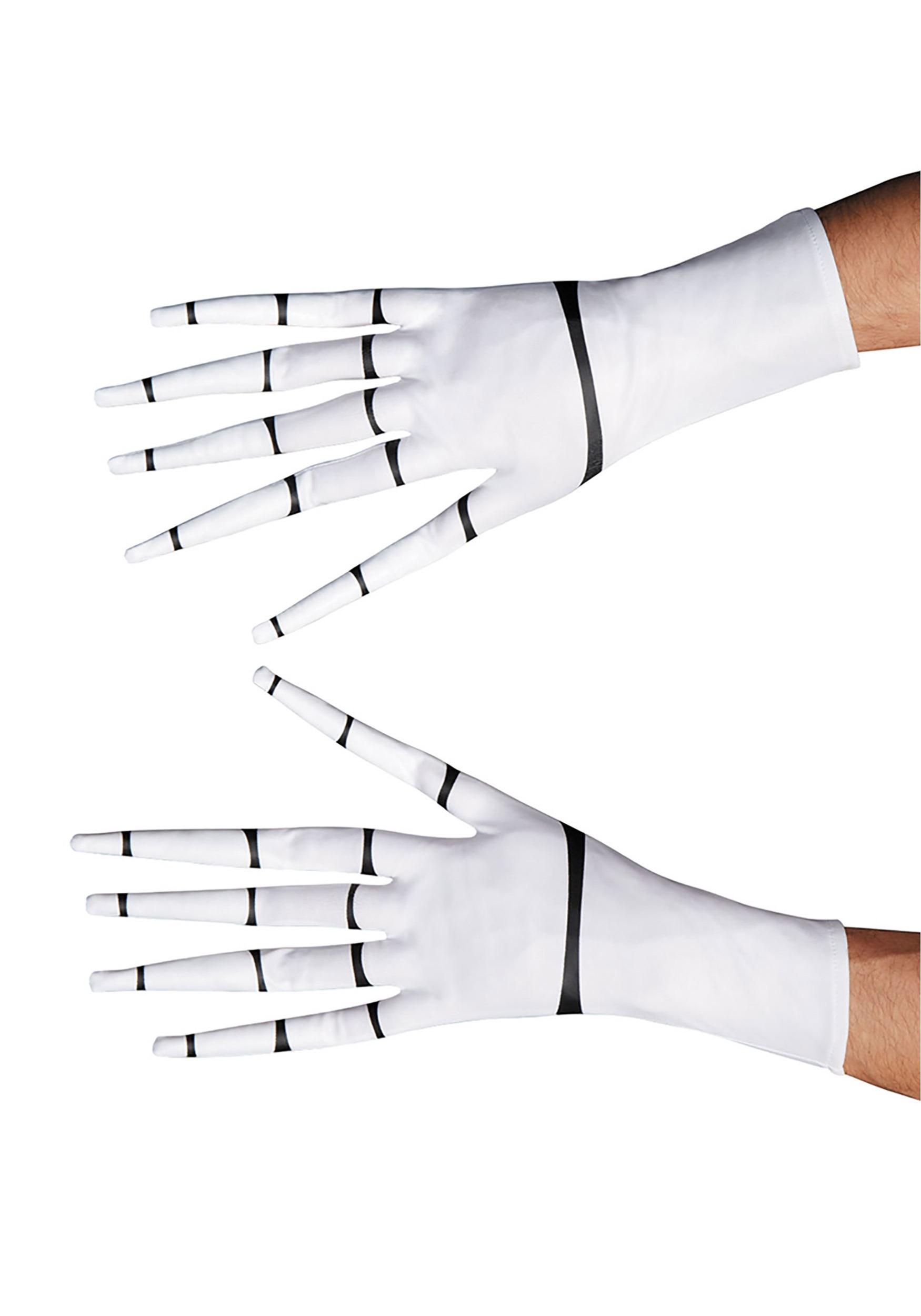 Jack Skellington Gloves for Adults