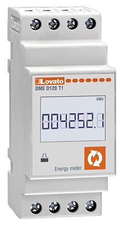 Lovato DME 1 Phase Electronic Digital Power Meter with Pulse Output
