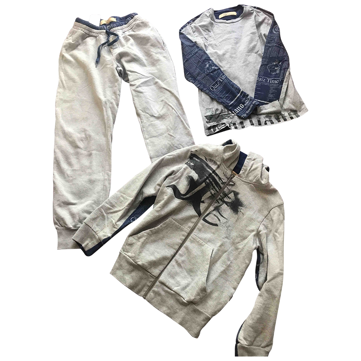 John Galliano \N Grey Cotton Outfits for Kids 10 years - up to 142cm FR