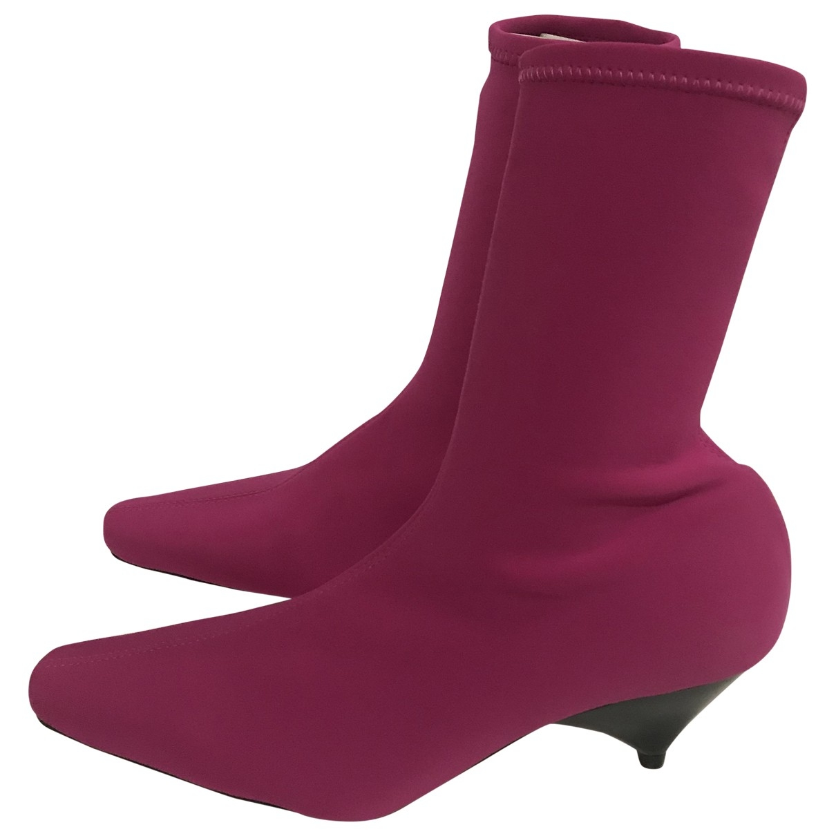 Zara \N Pink Boots for Women 38 EU