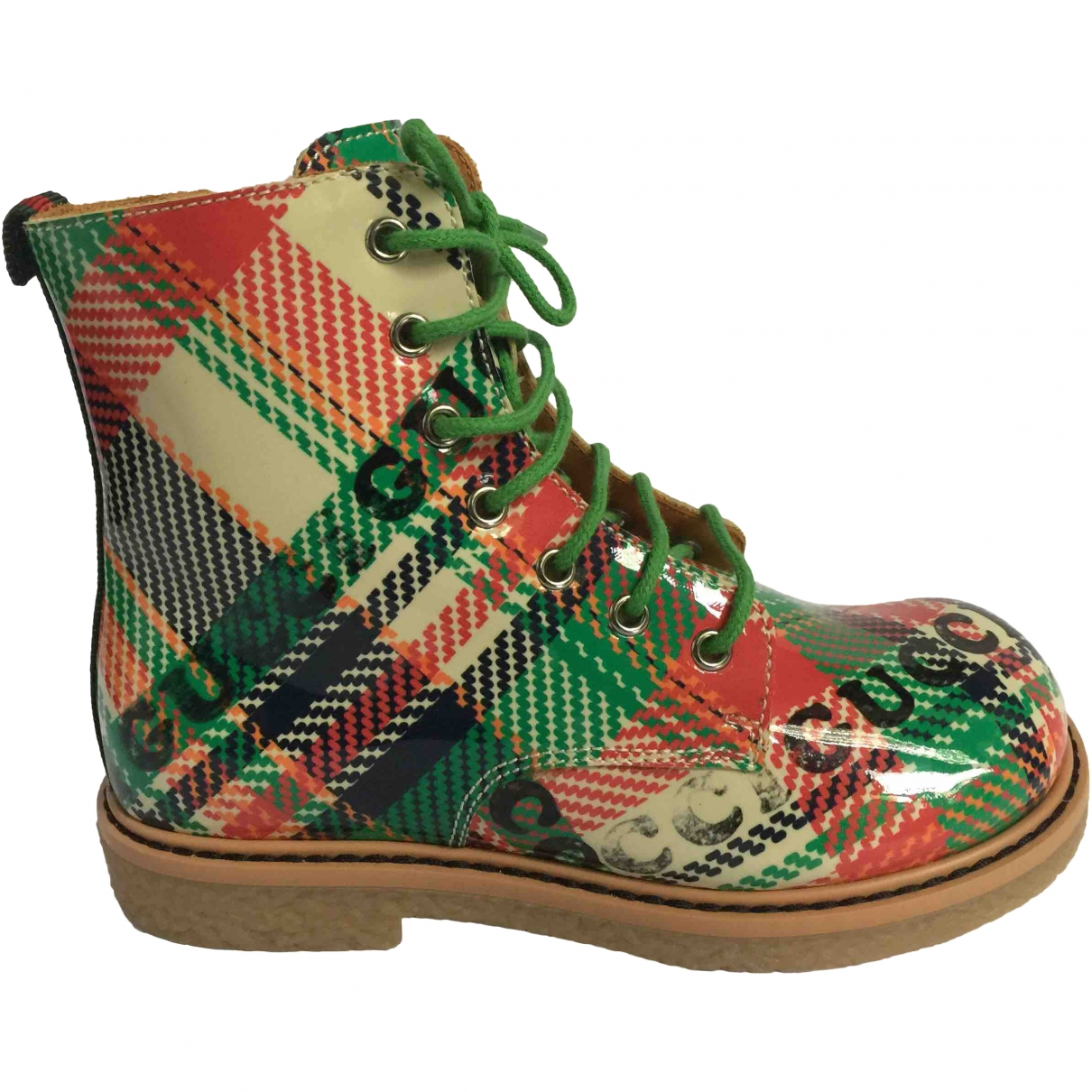 Gucci \N Multicolour Patent leather Boots for Kids 28 EU