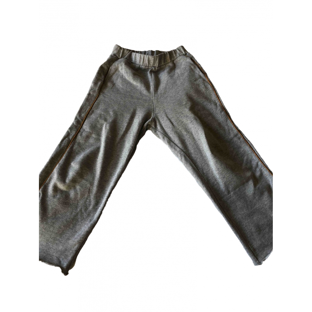 Bellerose \N Grey Cotton Trousers for Kids 10 years - up to 142cm FR