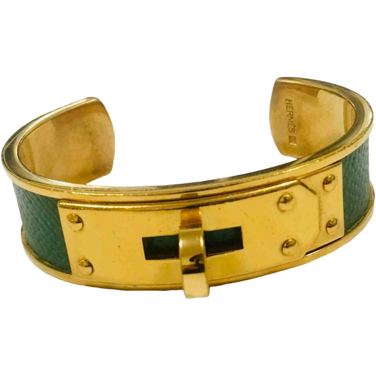 Hermès Kelly Green Metal bracelet for Women \N