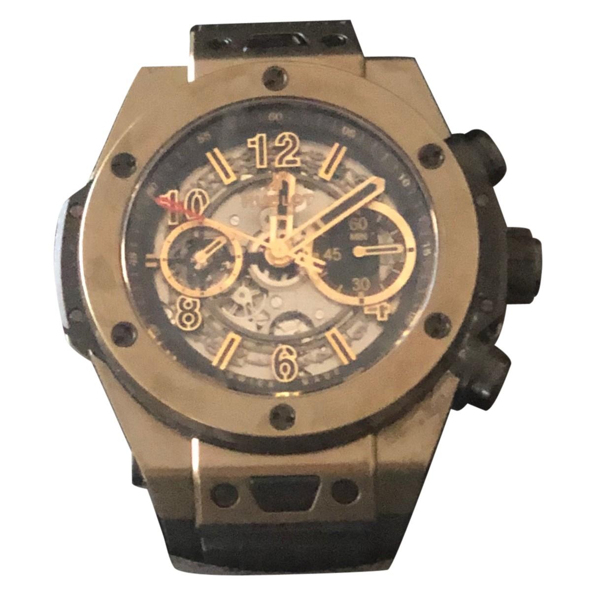 Hublot Big Bang  Brown Pink gold watch for Men \N
