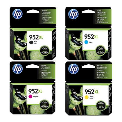 HP 952XL cartouche d'encre originale combo haute capacité BK/C/M/Y