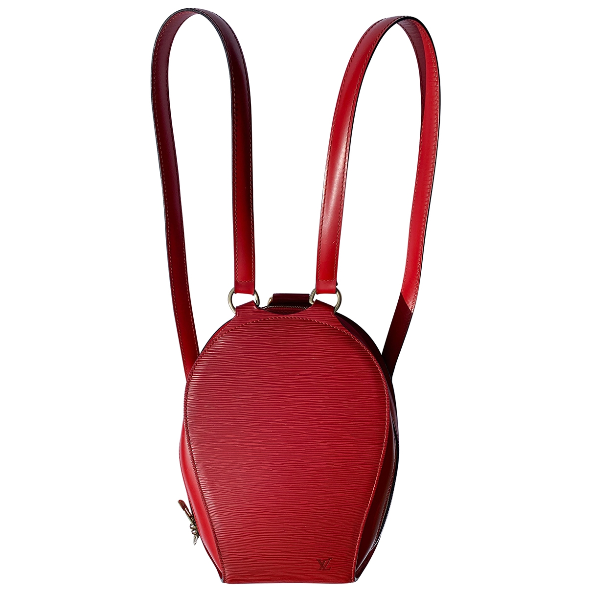 Louis Vuitton Mabillon Red Leather backpack for Women \N