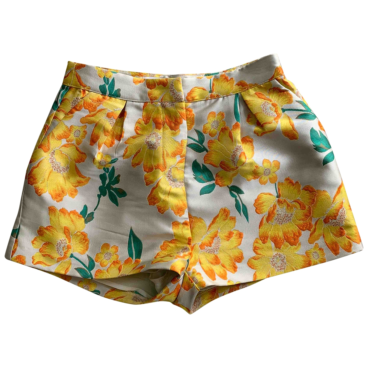 Non Signé / Unsigned \N Multicolour Shorts for Women S International