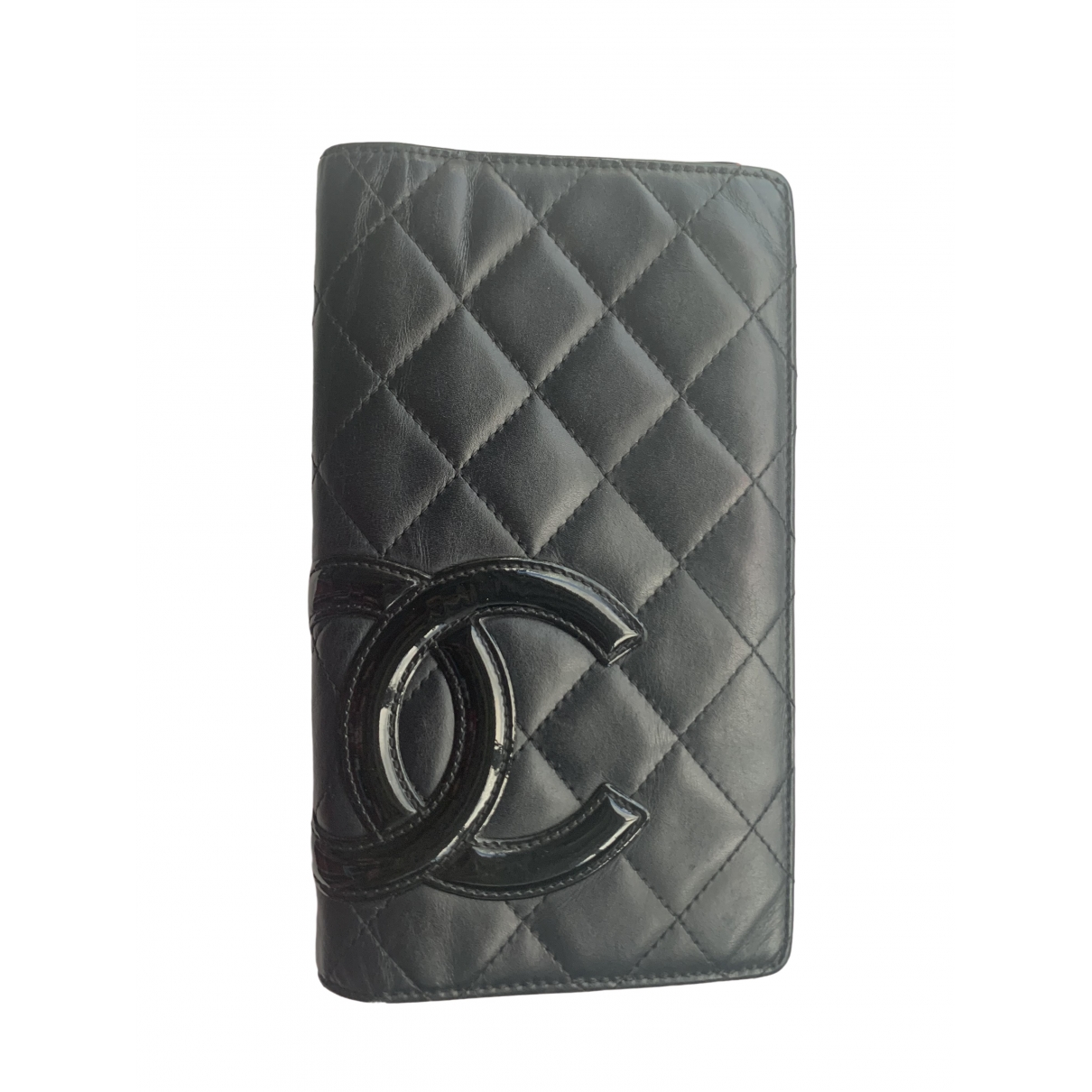 Chanel Cambon Black Leather wallet for Women \N