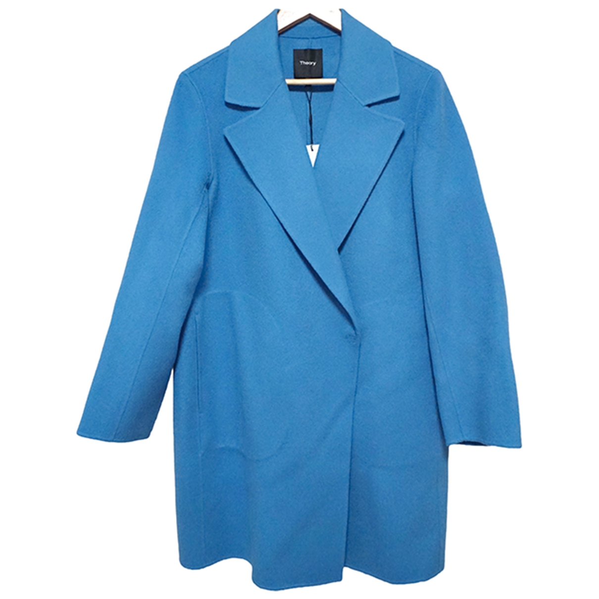 Theory \N Turquoise Wool coat for Women M International