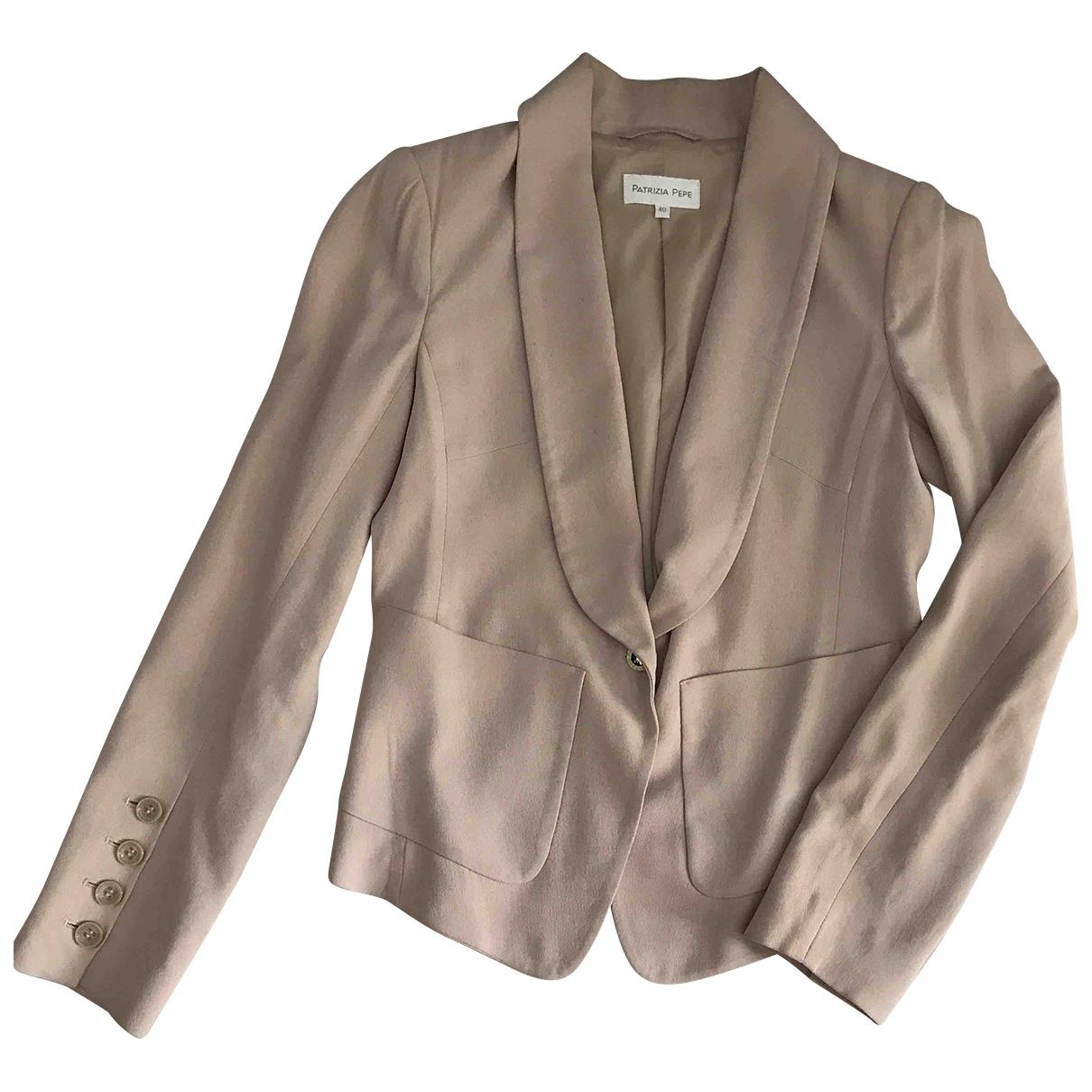Patrizia Pepe \N Pink jacket for Women 40 IT