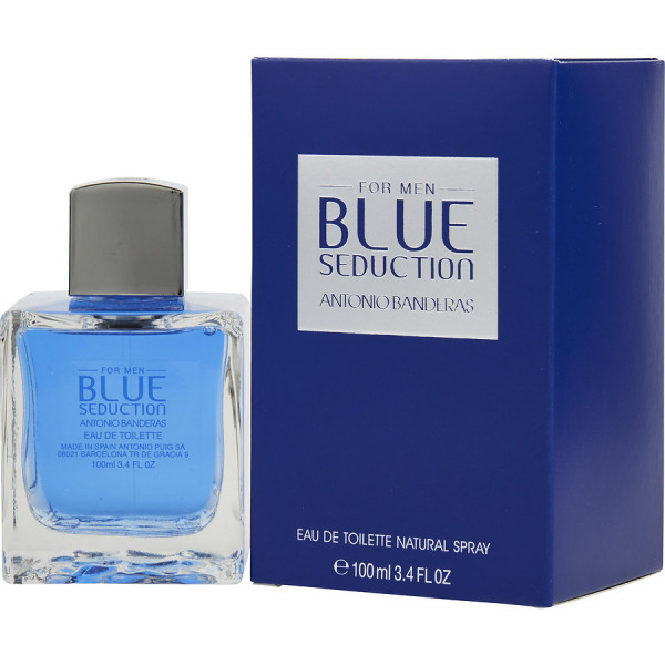 Antonio Banderas - Blue Seduction : Eau de Toilette Spray 3.4 Oz / 100 ml