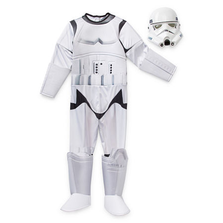 Star Wars Storm Trooper Costume - Kids, Medium , White