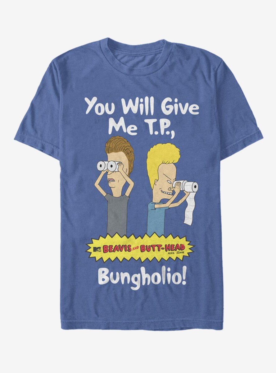 Beavis and Butt-Head You Will Give Me TP T-Shirt