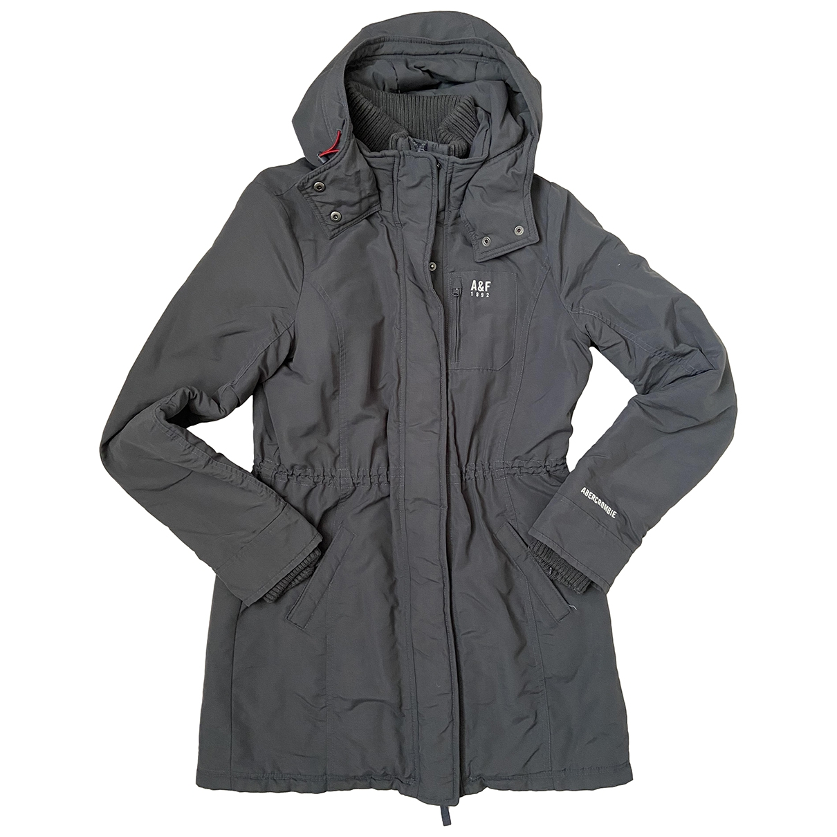 Abercrombie & Fitch \N Grey coat for Women 38 FR