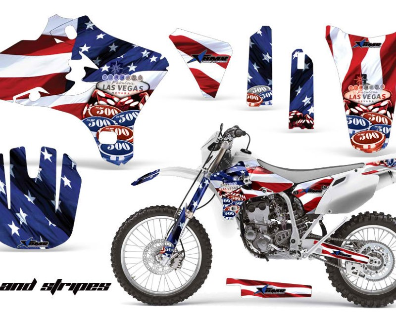 AMR Racing Dirt Bike Graphics Kit Decal Wrap For Yamaha WR250 WR450F 2005-2006áUSA SINS