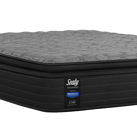 Sealy Posturepedic Beech Street Plush Pillow Top - Mattress Only, One Size , Gray