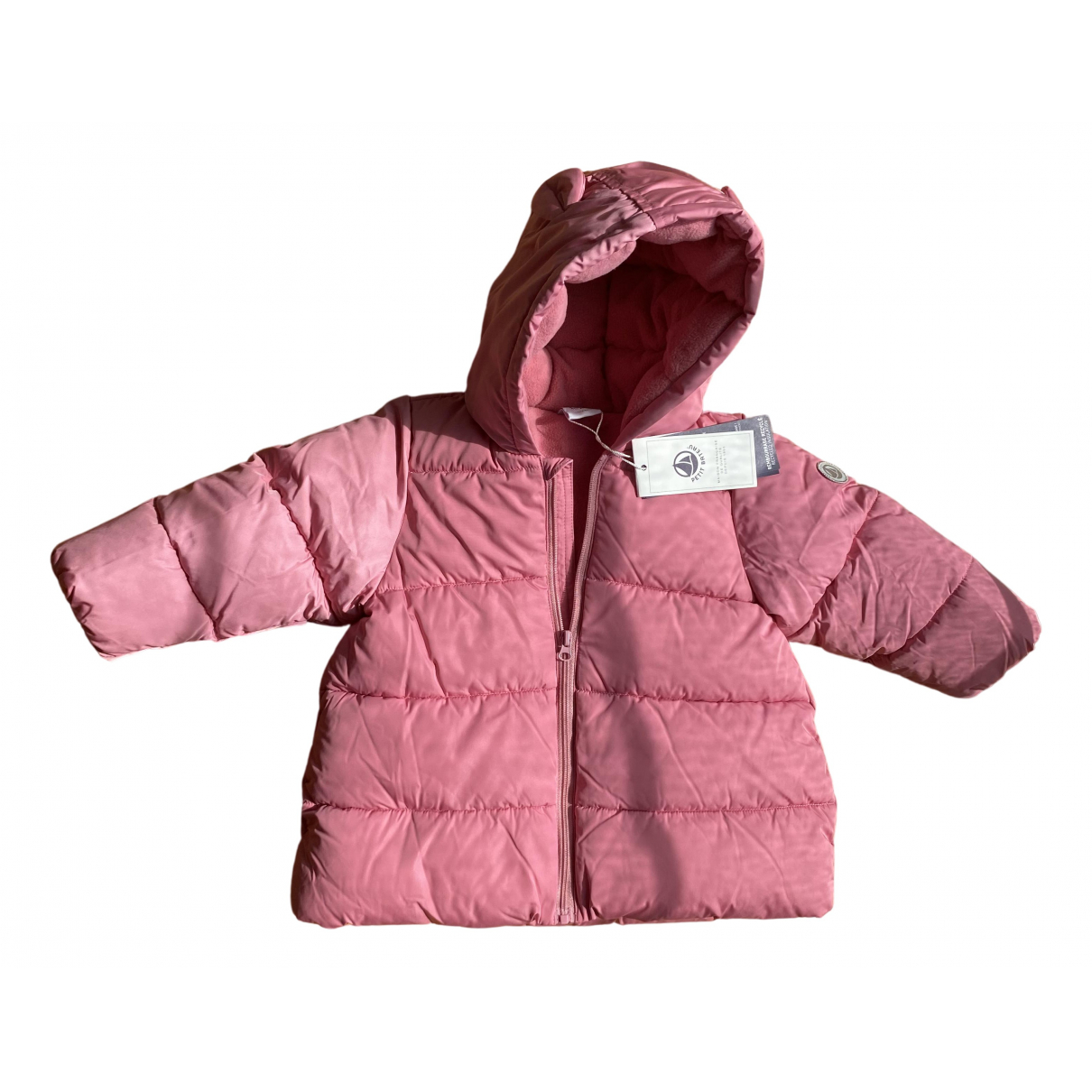 Petit Bateau \N Pink jacket & coat for Kids 12 months - up to 74cm FR