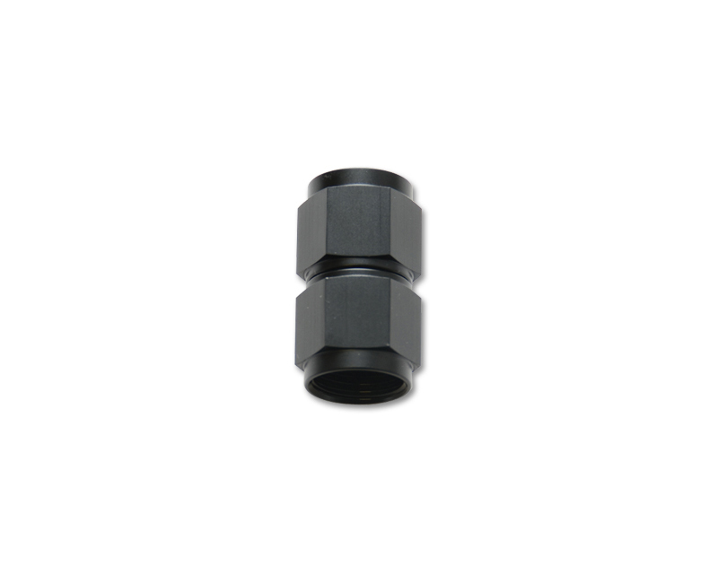 Vibrant Performance 10708 Anodized Black -6AN Female to -8AN Female Union Adapter