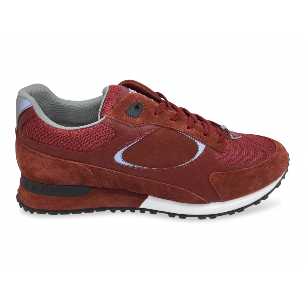 Louis Vuitton \N Red Suede Trainers for Men 8 UK