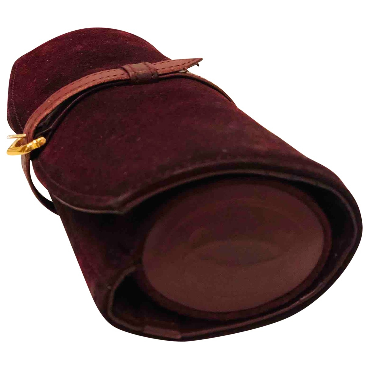 Cartier \N Burgundy Suede Home decor for Life & Living \N