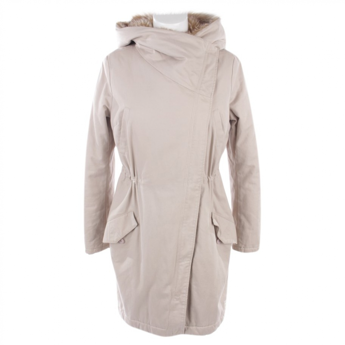 Autre Marque \N Beige Cotton jacket for Women 38 FR