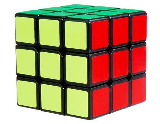 Yongjun Weilong 56 mm 3 x 3 x 3 Magic Cube - Black