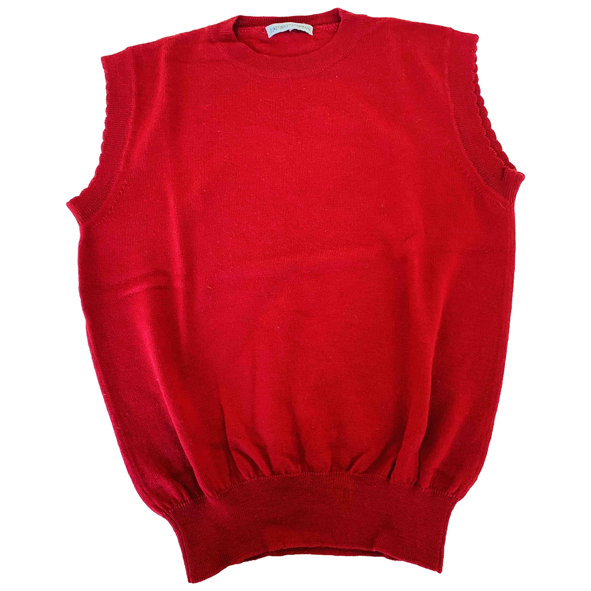 Emporio Armani \N Red Wool Knitwear for Women 38 FR