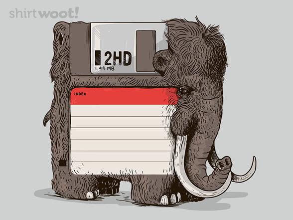 Floppy Mammoth T Shirt