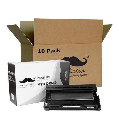 Compatible Brother DR630 tambour - Moustache@ - 10/paquet
