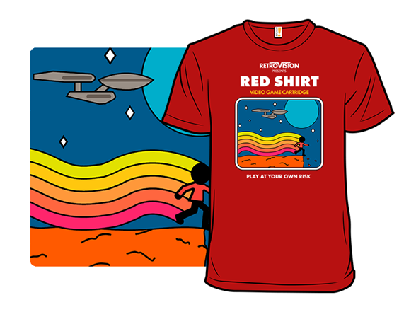 Red Shirt The Game T Shirt