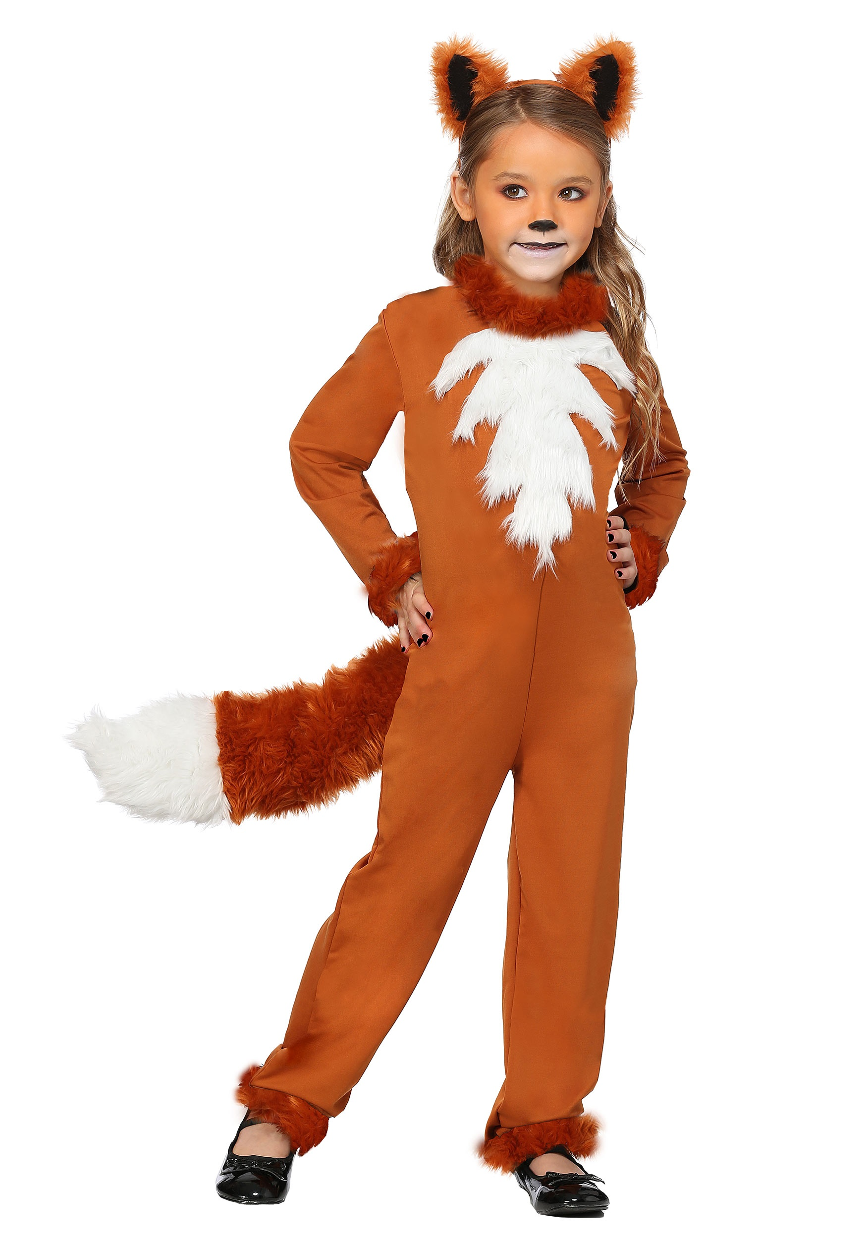 Girl's Sly Fox Costume | Animal Costumes for Girls
