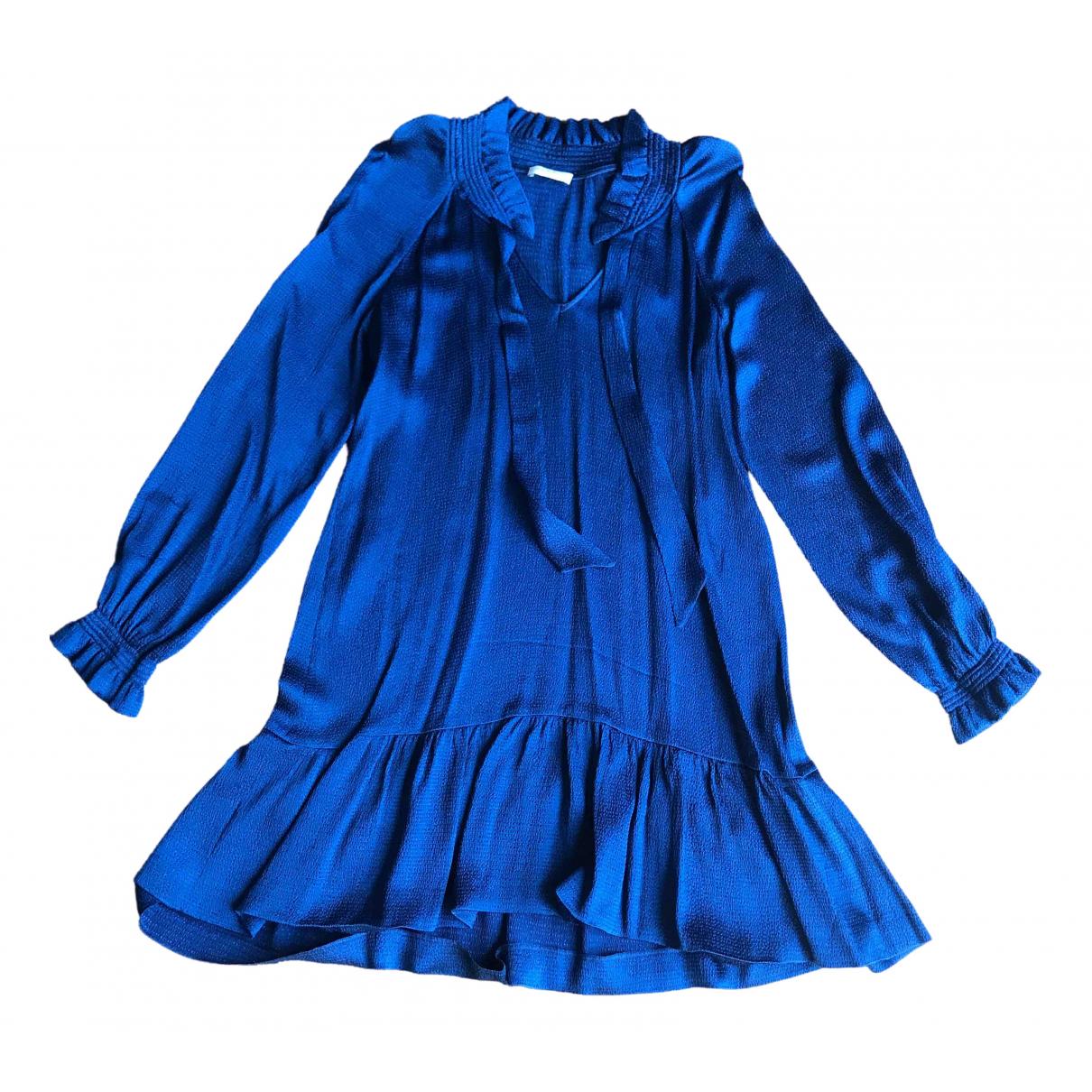 Sandro \N Blue dress for Women 36 FR