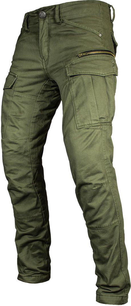 John Doe Cargo Stroker Aceituna XTM 2018 Jeans Motorista 36/32