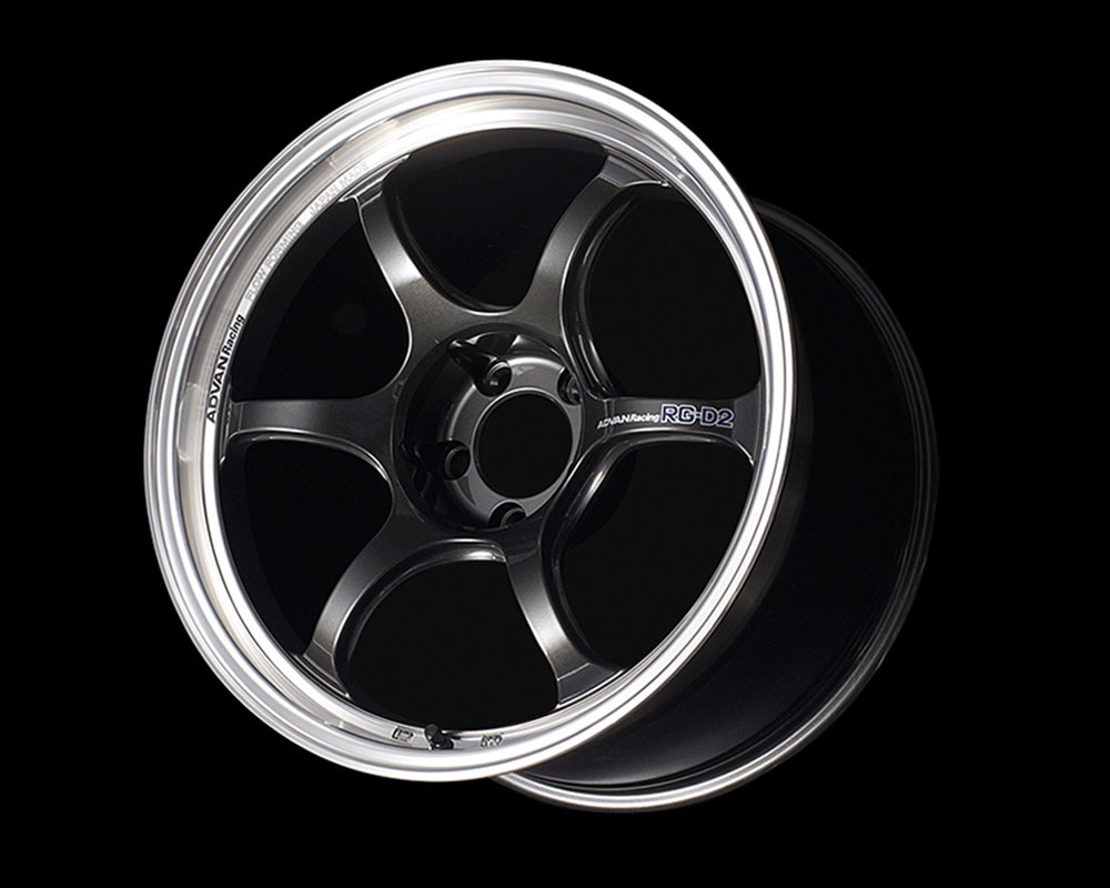 Advan RG-D2 Wheel 17x7.5 4x100 38mm Machining & Black Gunmetallic