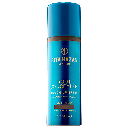 Rita Hazan Root Concealer Touch-Up Spray Temporary Gray Coverage, One Size , Brown