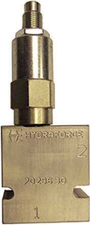 HydraForce Line Mounting Hydraulic Relief Valve RV10-26A-3B-N-30