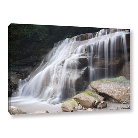 Brushstone New York Rattlesnake Gulf Waterfall Gallery Wrapped Canvas Wall Art, One Size , White
