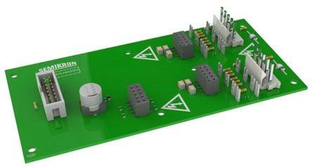 Semikron Board 1 SKYPER 32R Dual IGBT Gate Driver Module, 15A, SKYPER