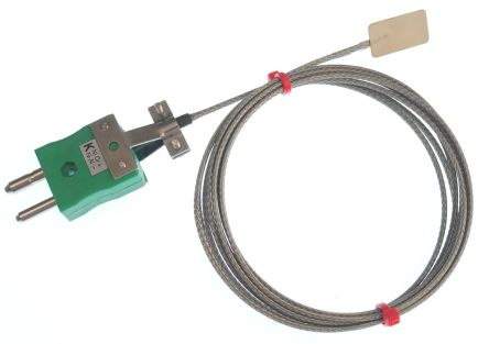 RS PRO Type K Thermocouple 25mm Length, → +350°C